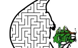 儿童迷宫(PDF版本),可打印
